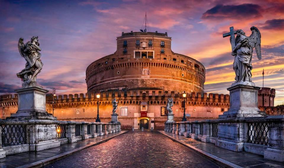 La storia dell'antico castello romano